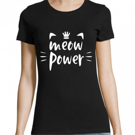 Tricou meow power