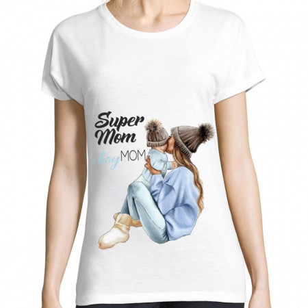 Tricou personalizat Super Mom