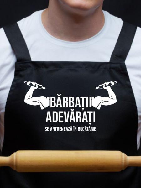 Sort personalizat Barbatii adevarati se antreneaza in bucatarie