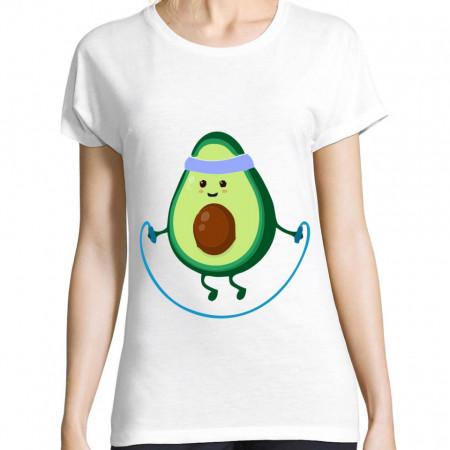 Tricou avocado
