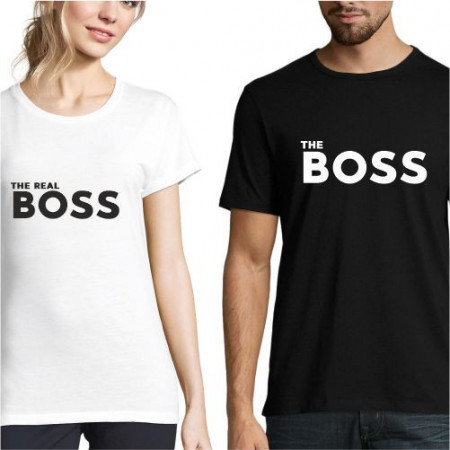 Set de tricouri personalizate The BOSS