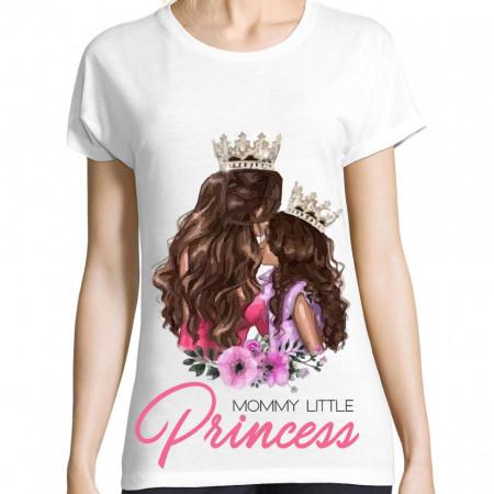 Tricou Mommy little princess