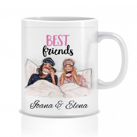 Cana personalizata pentru cele mai bune prietene - Best friends II