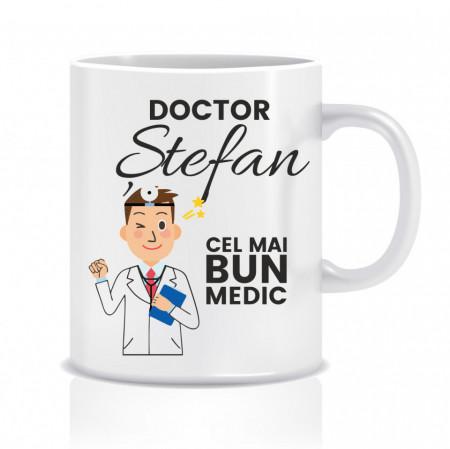 Cana personalizata pentru doctor