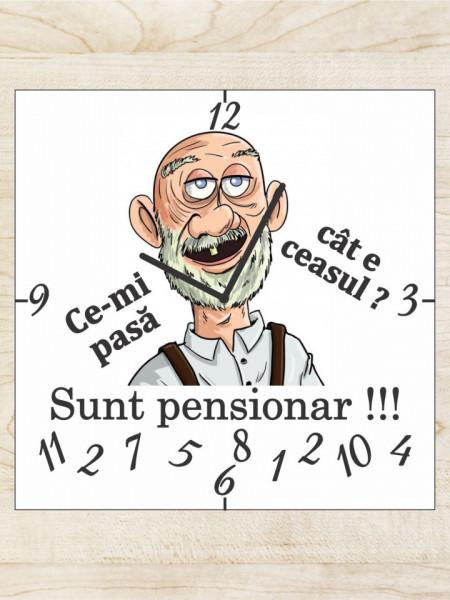 Ceas personalizat pentru pensionare