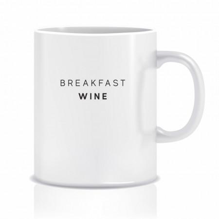 Cana personalizata BREAKFAST WINE
