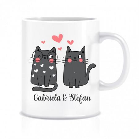 Cana personalizata pisicute