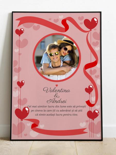 Tablou personalizat pentru cupluri