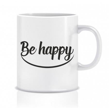 Cana personalizata Be happy
