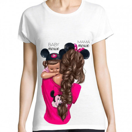 Tricou MOM & BABY mouse