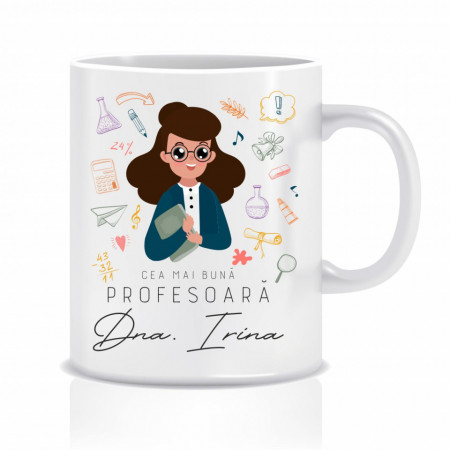 Cana personalizata pentru cea mai buna profesoara