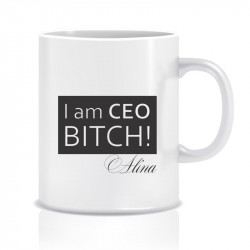 Cana personalizata I am CEO