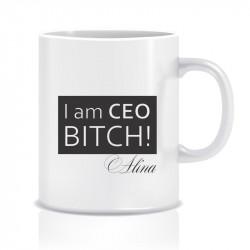 Cana personalizata I am CEO