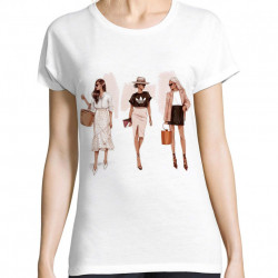 Tricou fashion girls