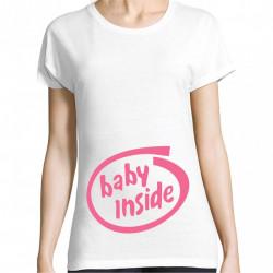 Tricou baby inside