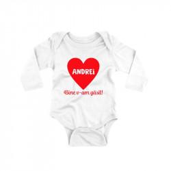 Body personalizat inima cu nume