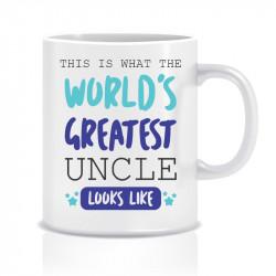 Cana personalizata World GREATEST UNCLE