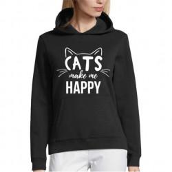 Hanorac personalizat Cats