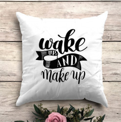 Perna personalizata Wake up, Make up