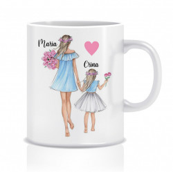 Cana personalizata MOM&DAUGHTER