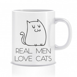Cana Real men, love cats!