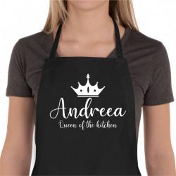 Sort de bucatarie personalizat Queen of the kitchen