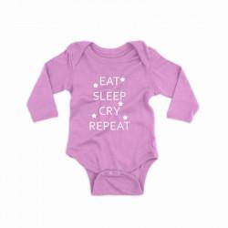 Body personalizat EAT, SLEEP, CRY, REPEAT