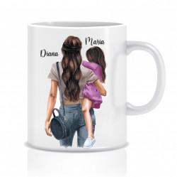Cana personalizata MOM&DAUGHTER III
