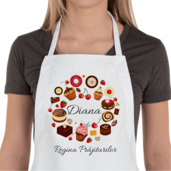 Sort de bucatarie personalizat Regina Prajiturilor