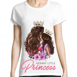 Tricou Mommy little princess