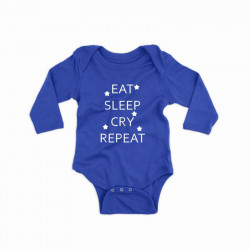 Body personalizat EAT, SLEEP, CRY, REPEAT