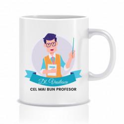 Cana personalizata pentru cel mai bun profesor