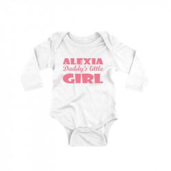 Body personalizat Daddy little princess