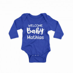 Body personalizat Welcome Baby