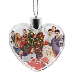 Glob pentru brad personalizat inima
