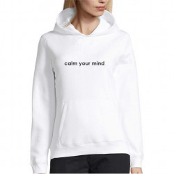 Hanorac personalizat calm your mind