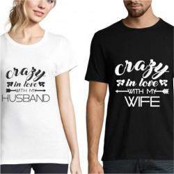 Set de tricouri personalizate Wife & Husband