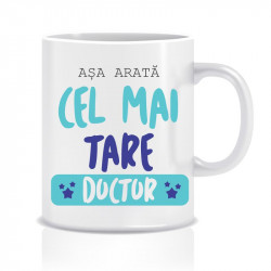 Cana personalizata Cel mai tare doctor