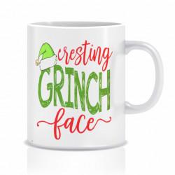 Cana personalizata Grinch face