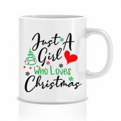 Cana personalizata Love Christmas