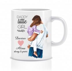 Cana personalizata pentru tatici - Daddy's daughter