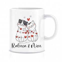 Cana personalizata pisicute II