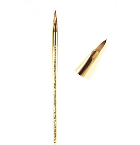 Pensula acryl nr. 2 shiny gold (G16-7)