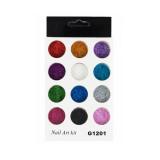 Set 12 culori sclipici fin G1201