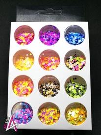 Confetti Summer set 12 culori J1203