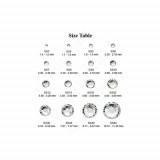 tabel marimi cristale unghii
