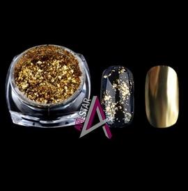 Pudra efect platinum G518-GD Gold
