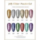 Polygel Glitter 08 FSM 30 ml