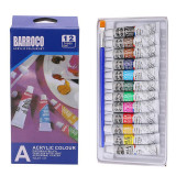 Set 12 culori acrilice Barroco