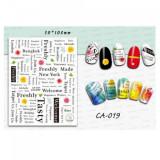 Sticker unghii CA019-CH